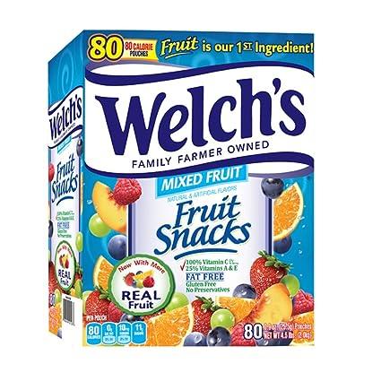 Fine Welchs Fruit Snacks Mixed 80 Count Pack Of 1 Uwap Interior Chair Design Uwaporg