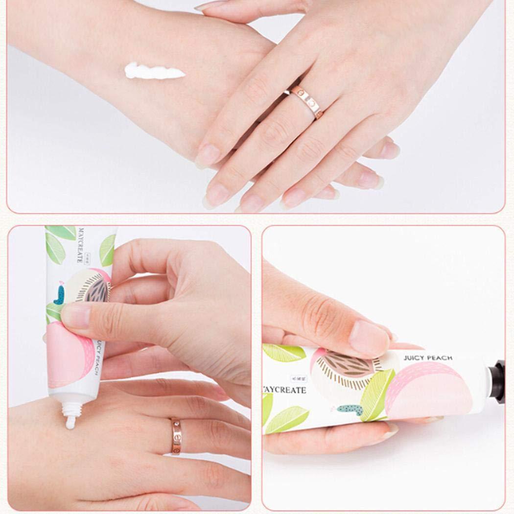 Handcreme, Tägliche Feuchtigkeitsspendende Unisex Handbalsam Ferse Fußkörpermassagecreme, 30g (Nur Ein Stück, Zufällige Farbe)