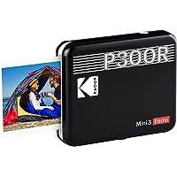 KODAK Mini 3 Retro Portable Photo Printer, Compatible with iOS, Android & Bluetooth Devices, Real Photo: (3x3), 4Pass…