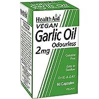 HealthAid Garlic Oil 2mg - 60 Vegicaps