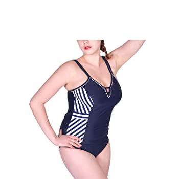 2018 New Women's One Piece Swimsuit Chest Pad Professional Sports Swimsuit Sexy Halter Slim Swimsuit