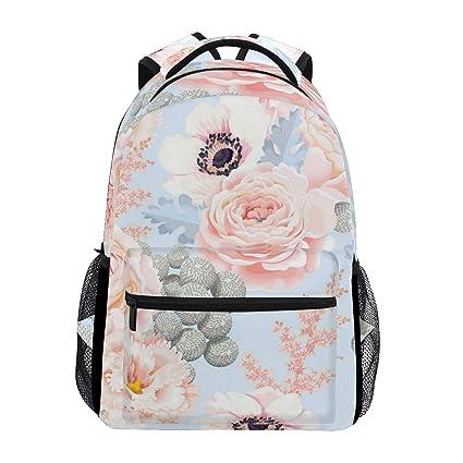 0b2cbed5c817 Amazon.com: Like A Shy Little Girl Trekking Backpack Fashion ...