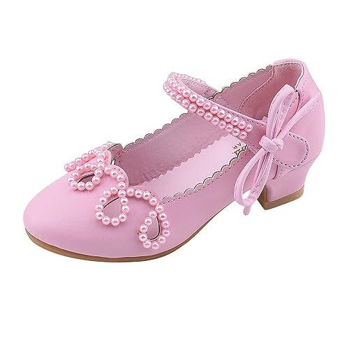 b22ea9907107c Xmiral Chaussure Enfant Princesse Paillettes Cristal Unique Nourrissons  Filles (26 EU