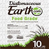 Image of DiatomaceousEarth DE10, 100% Organic Food Grade Diamateous Earth Powder - Safe For Children & Pets 10 LBS