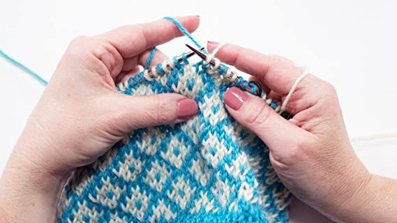 Amazon Com How To Work Stranded Or Fair Isle Knitting Author And