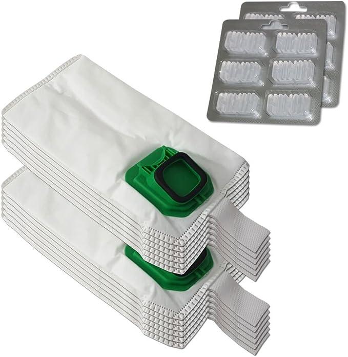 Pack de 12 bolsas y bolsitas () 12 Profumini duende Microfibra para aspiradora Vorwerk Kobold VK 140 150, VK140, VK150: Amazon.es: Hogar