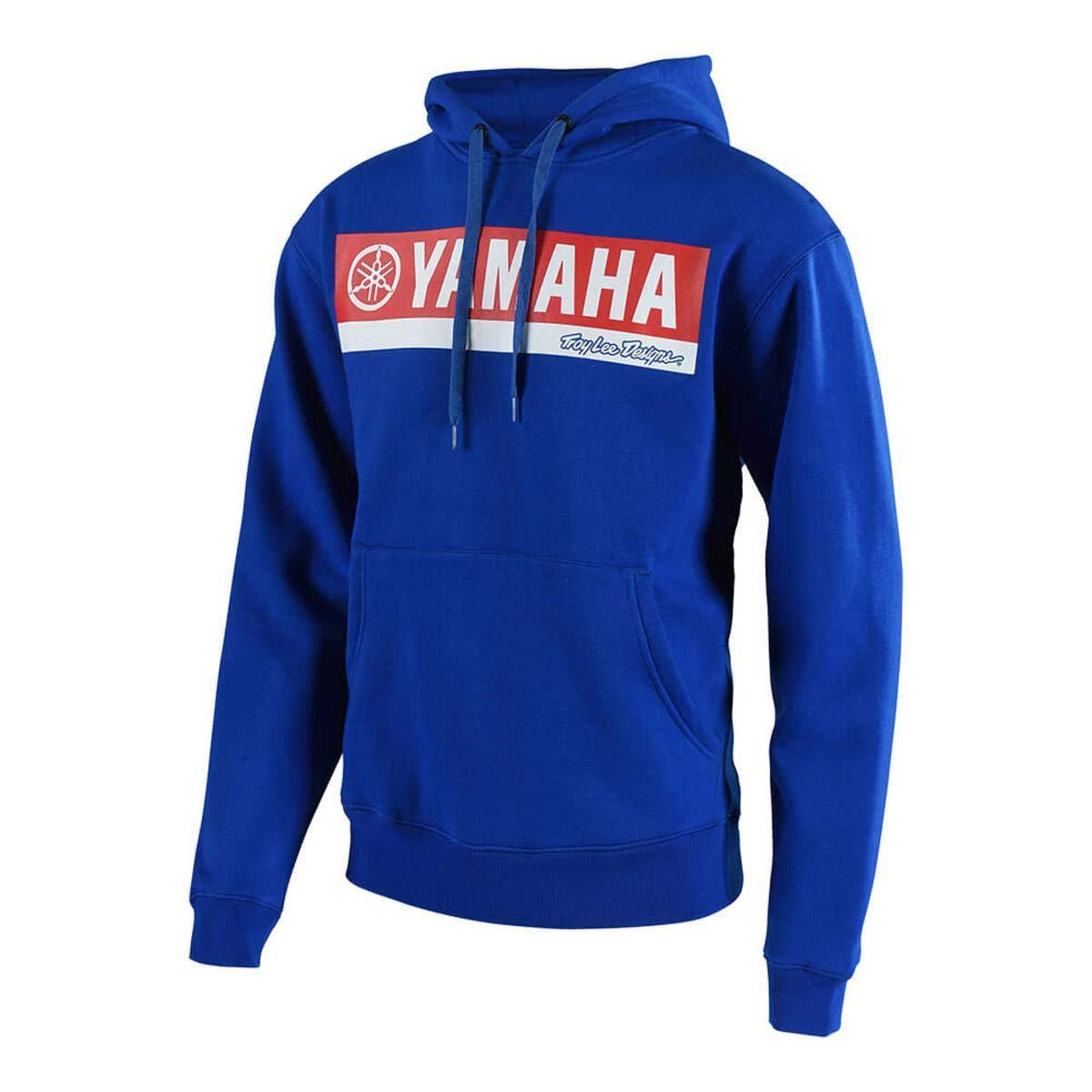 Troy Lee Designs Yamaha RL1 Mens Pullover Fleece Hoodie Black SM 731647222