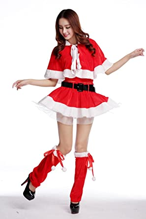 MNII Las Mujeres Miss Santa Santa Disfraces Tradicional ...