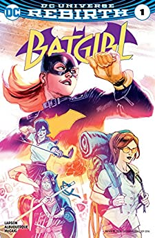 Batgirl (2016-) #1 by [Larson, Hope]