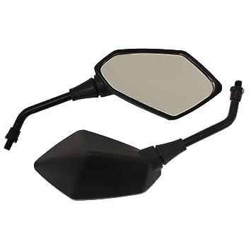 Ryde - Specchietti angolari universali per Motocicletta - Nero