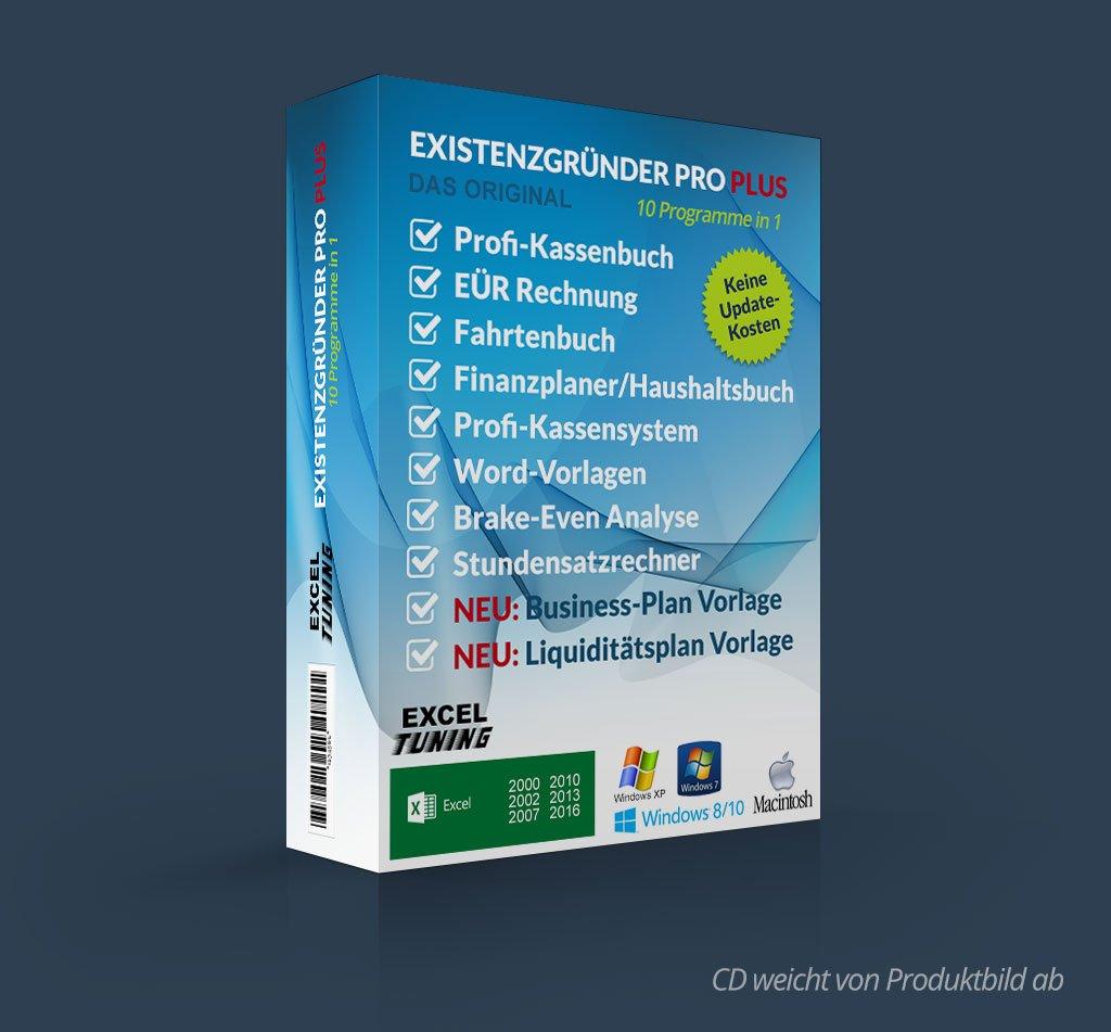 Excel Tuning Existenzgründer Pro Plus Amazonde Software