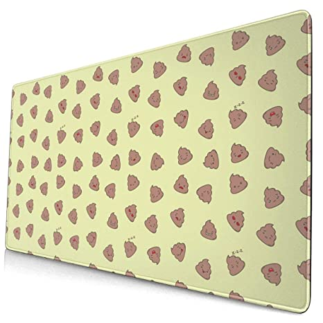 Cool Cheetah Leopard Large Gaming Mouse Pad Desk Mat Long Non-Slip Rubber Stitched Edges Mice Pads 15.8x29.5 in