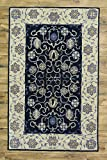 Hand Tufted Floral Oushak Oriental Area Rug for Bedroom from India (12' 0'' X 9' 0'')