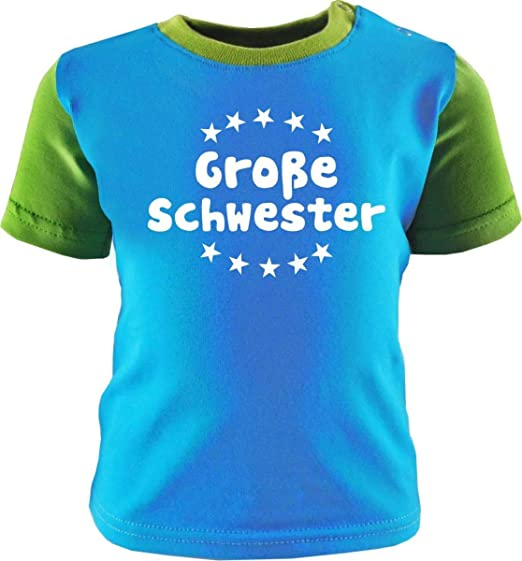 Kleiner Fratz Babyshirt Kinder Jungen T-Shirt Multicolor M/ädchen Shirt Gro/ße Schwester