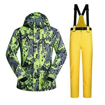 Zjsjacket Chaqueta de esqui Trajes de snowboard para hombre al ...