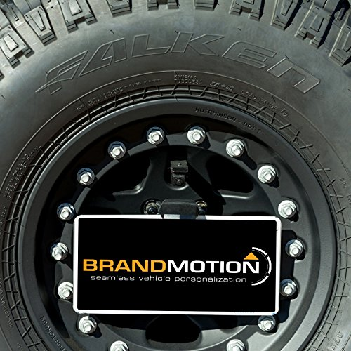 Brandmotion 9002-8847 Jeep Wrangler Adjustable Rear Vision System for Factory Display Radios (Current System)