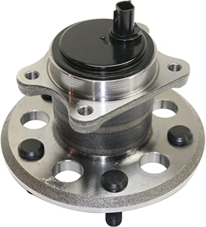 Wheel Hub and Bearing Compatible with 2012-2016 Toyota Camry 2013-2016 Avalon Rear Left FWD With Wheel Studs