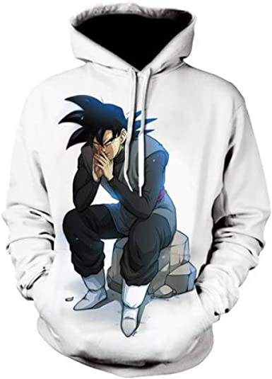 Dragon Ball Z Vegeta Hoodie Super Saiyan Goku DBZ Apparel