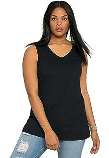 9e0da6f6f637a Roamans Women s Plus Size Trapeze Maxi Tunic Tank at Amazon Women s ...
