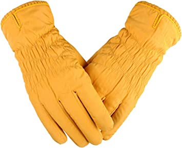 Blisfille Guantes Mujer Finos Guantes Moto Lluvia Y Frio Guantes ...