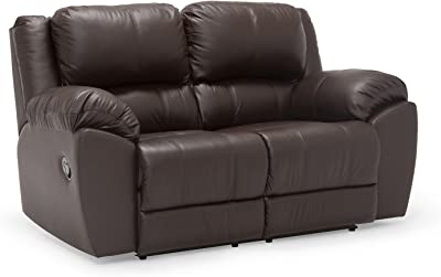 Oliver Pierce OP0321 Burnham Loveseat, Chocolate Brown