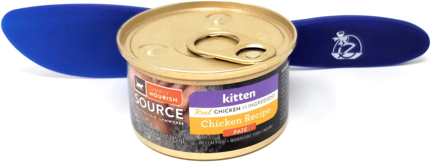 SIMPLY NOURISH Source Wet Cat Food Kitten Chicken Recipe, Pate 3oz (Pack of 12) and Especiales Cosas Spatula