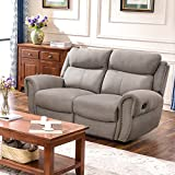 Cheap Harper & Bright Designs Sectional Sofa Set Including Chair, Loveseat and 3-Seat Sofa Recliner (Loveseat)