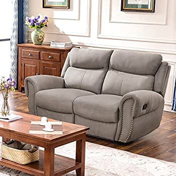 Harper U0026 Bright Designs Sectional Sofa Set Including Chair, Loveseat And  3 Seat Sofa Recliner (Loveseat)