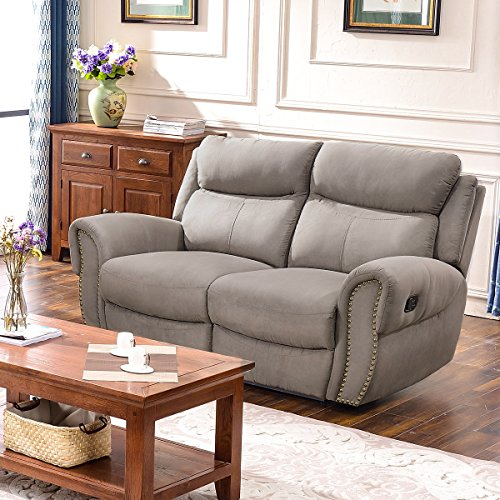 Harper & Bright Designs Sectional Sofa Set Including Chair, Loveseat and 3-Seat Sofa Recliner (Loveseat) Double Recliner Sofa