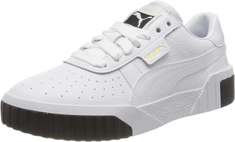 PUMA Cali WNS, Zapatillas para Mujer, Blanco White Black, 36 EU: Amazon.es: Zapatos y complementos