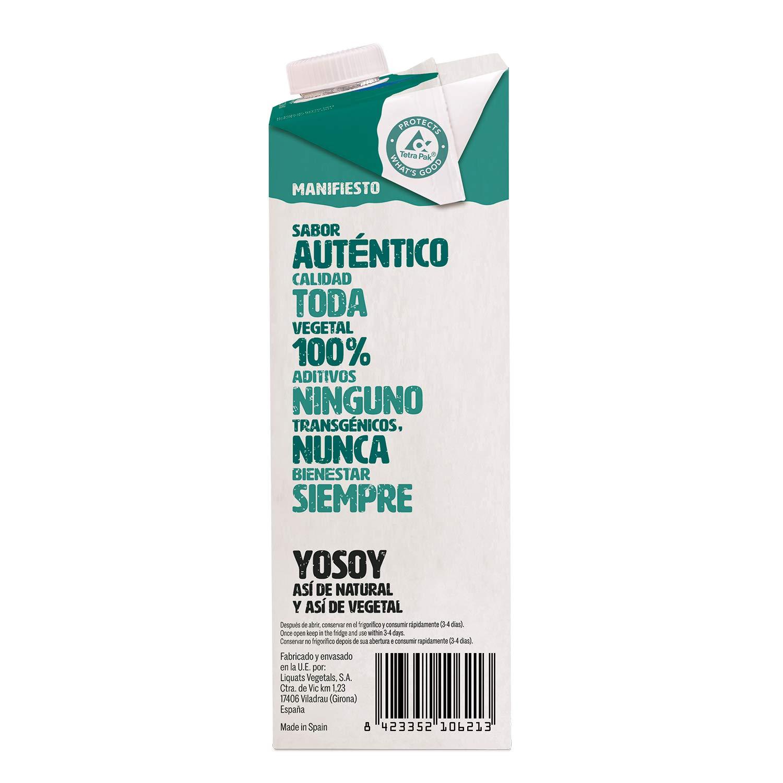 Yosoy Bebida de Arroz con Chufa - Caja de 6 x 1L - Total: 6L