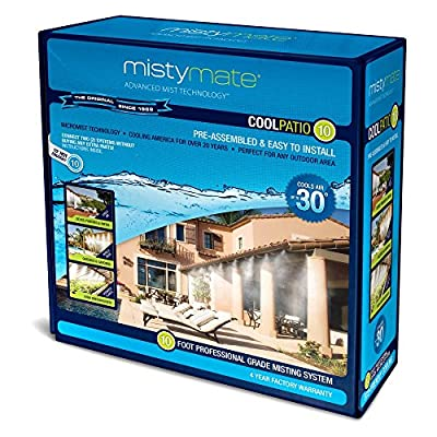 MistyMate Cool Greenhouse/Patio Outdoor Mist System