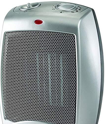 Utilitech 5,118-BTU Utility Ceramic Compact Personal Electric Space Heater with Thermostat Ceramic Heaters Utilitech