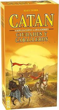 Oferta amazon: Devir- Ampliacion de 5 y 6 Jugadores para Ciudades y Caballeros de Catan, Miscelanea (BGCIU56)