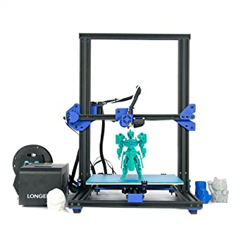 LK1 DIY LONGER 3D Impresora FDM Kit Tamaño de impresión grande de ...