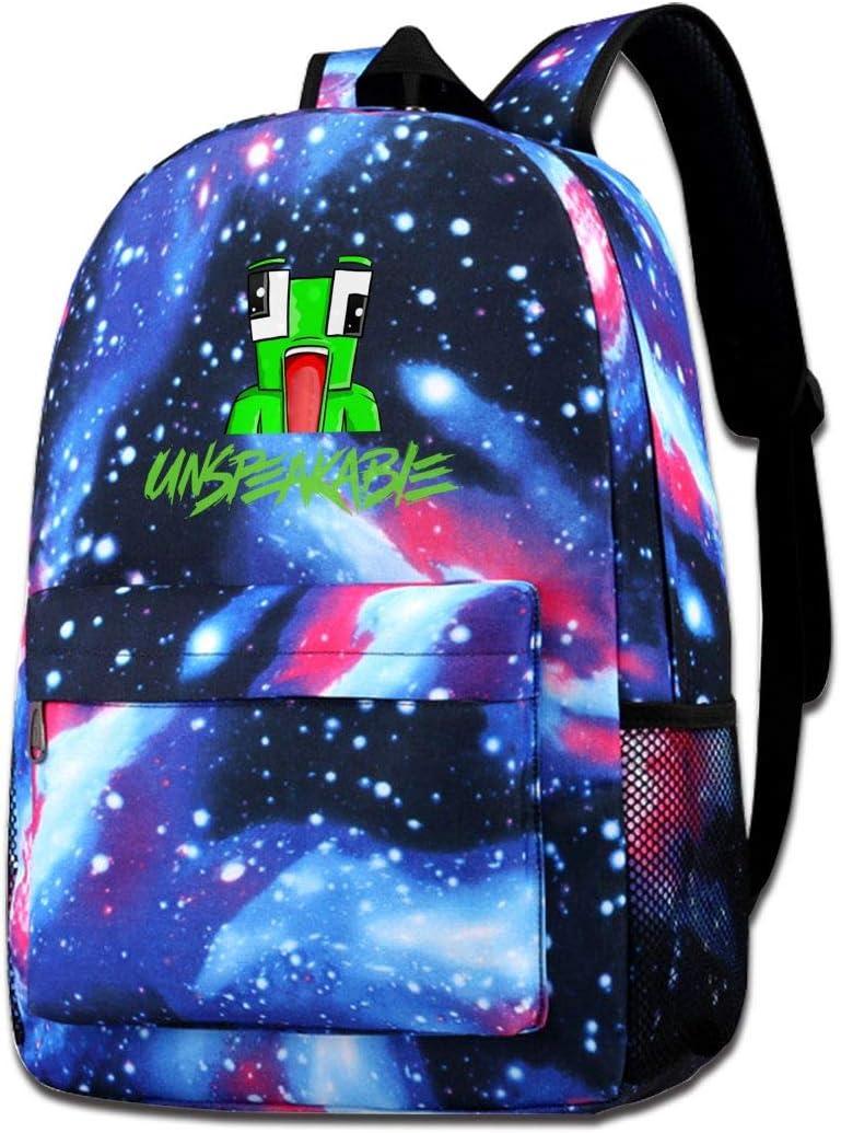 351 Star Sky School Backpack UNS-Peakable Unisex Galaxy Bookbags for Kids Teens Students Daypack