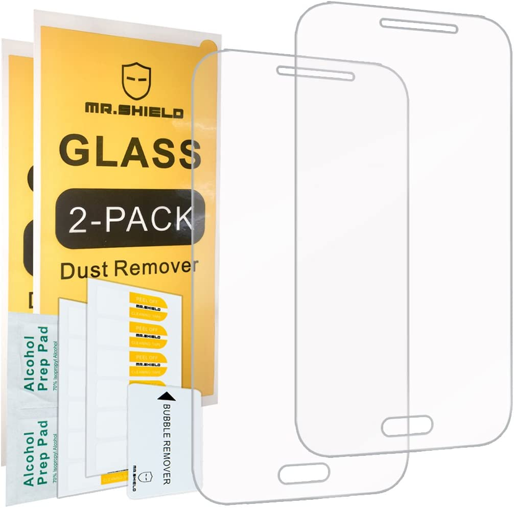 [2-PACK]-Mr.Shield For Samsung Galaxy Core Prime [Tempered Glass] Screen Protector with Lifetime Replacement