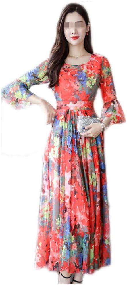 Vestido, Gasa sobre la Rodilla Falda Larga 3 Colores 7 tamaños ...