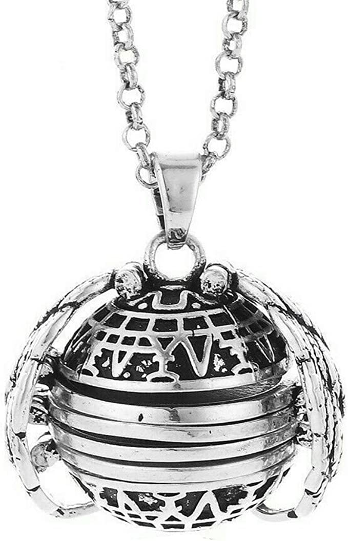DREZZED Fashion Expanding Photo Locket Photo Box Necklace Pendant Long Chain Lover Gifts Pendant Necklaces
