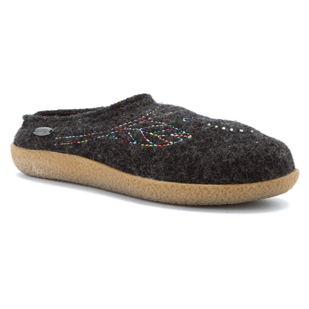 Giesswein Women's Bella Charcoal Slipper