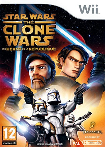 Star Wars - the Clone Wars : les Héros de la République [WII] | Lucas Arts