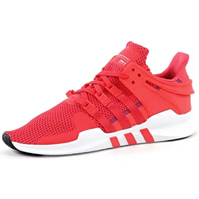 reputable site b648e aefb2 adidas Originals EQT Equipment Support ADV, Real Coral-Real Coral-Footwear  White,