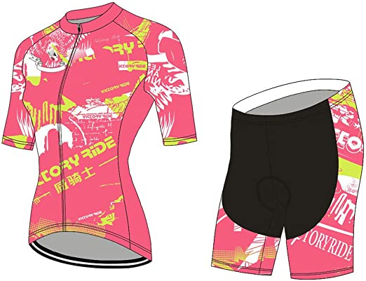 YDJGY Kits Ciclismo Para Mujeres Principiantes Ciclismo Jersey ...