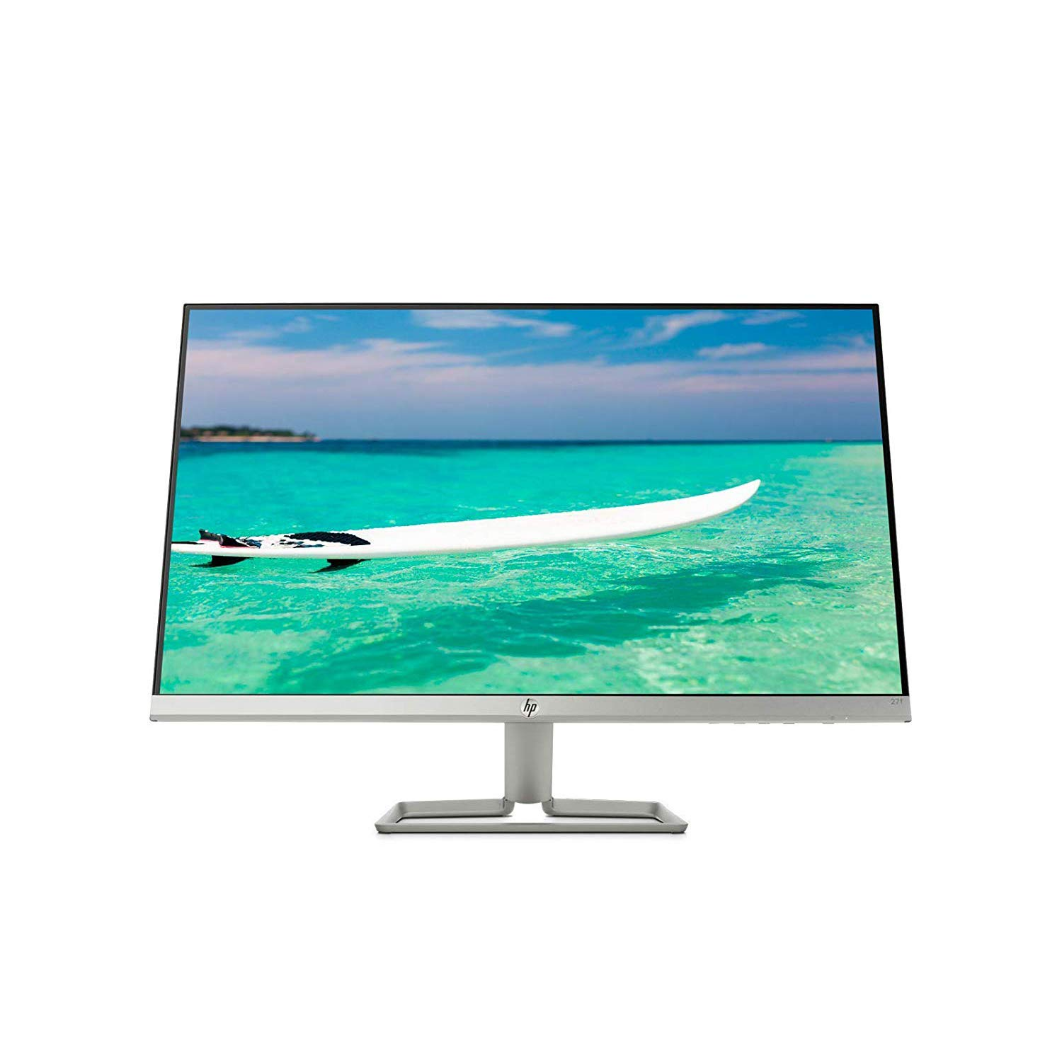 "2018 Flagship HP 27"" Full HD 1080P IPS Anti-Glare Business Professional Monitor - Frameless Edge-to-Edge Display, 16.7 Million Display Colors, 5ms Response Time 16:9 Aspect Ratio 250 cd/m2 Brightness"