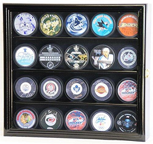 hockey puck wall display case - 1