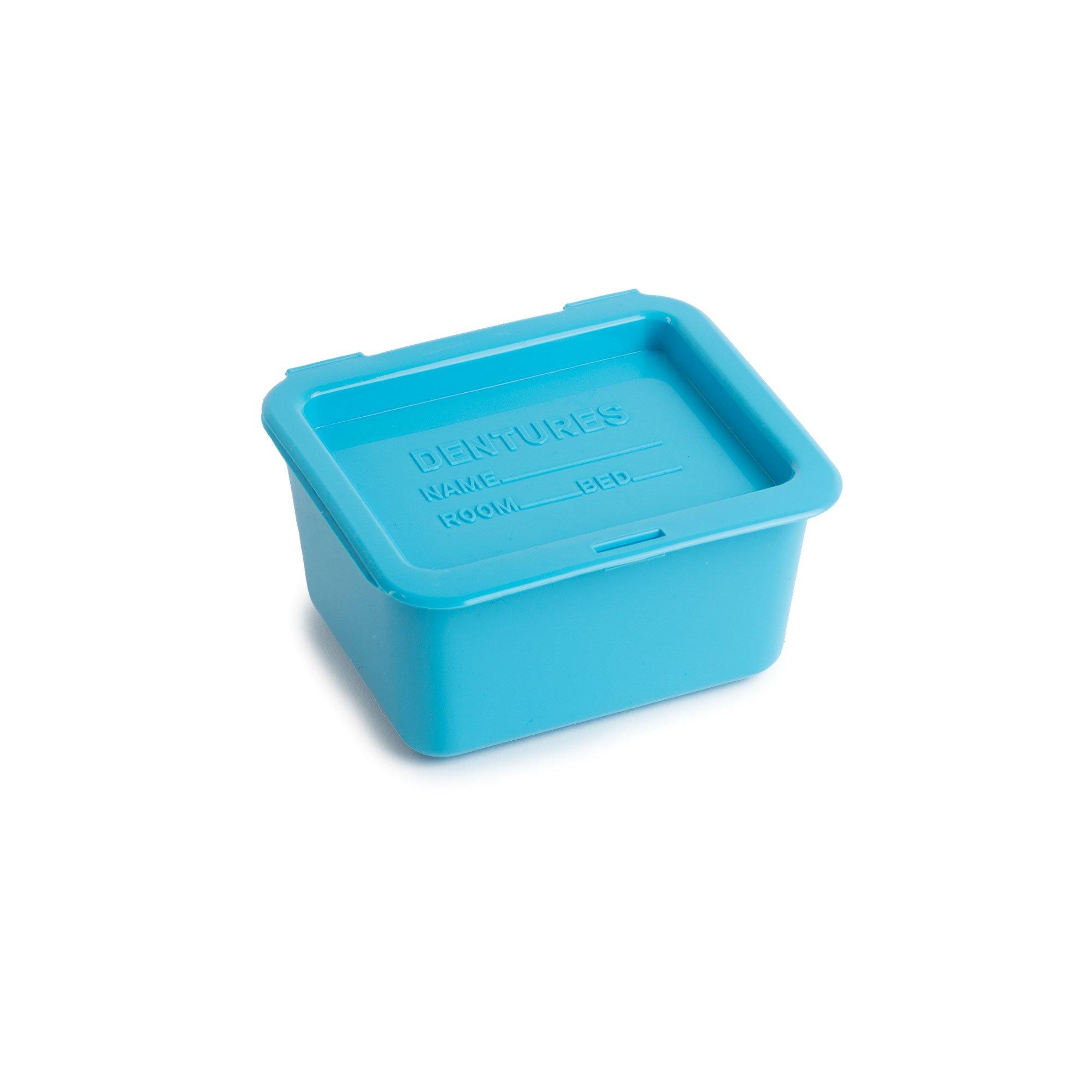 Denture Cups, Sterilizable, 8oz, Blue