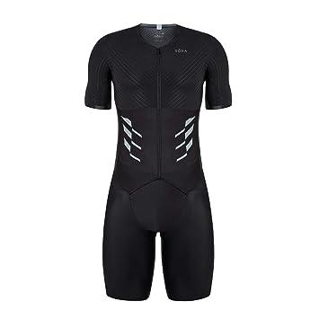 ROKA Mens Gen II Elite Aero Short Sleeve Triathlon Sport Suit