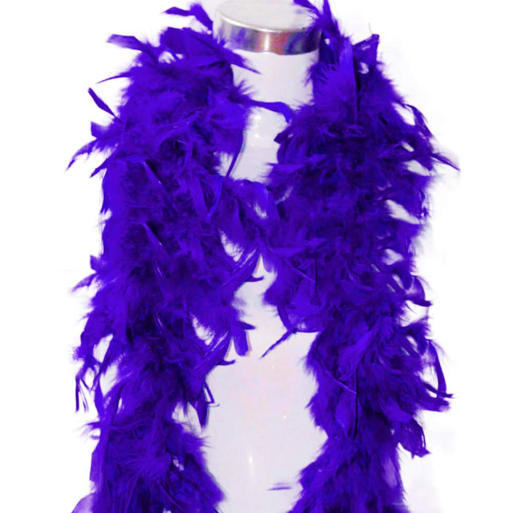Auied Quality White Feather Boa Flapper Hen Night Burlesque Dance Party Show Costume