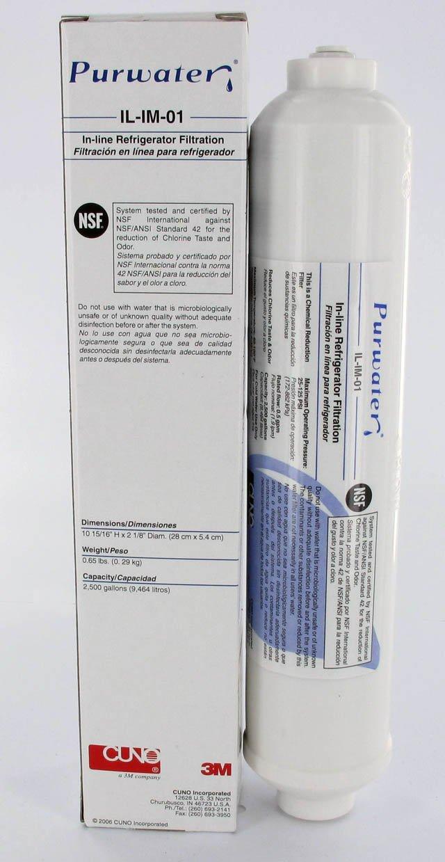 3 M Filtro de agua de IL en de 01 para frigoríficos Samsung y LG de Cuno: Amazon.es