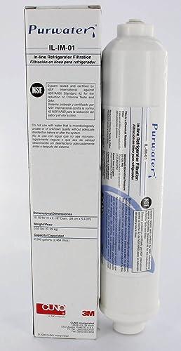 3 M Filtro de agua de IL en de 01 para frigoríficos Samsung y LG de